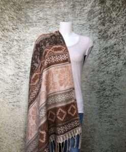 Supergrote warme sjaals uit India
